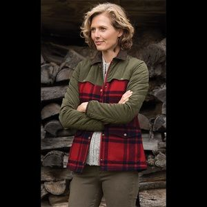 Orvis | Sunderland Plaid Wool Quilted Jacket